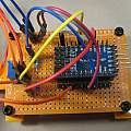 3D printer ultrasonic bracket, David Pilling
